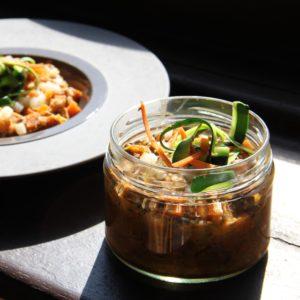 Curry de légumes à la coriandre